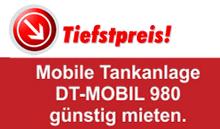 Preistipp mobile Tankanlage günstig mieten